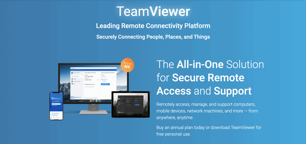 TeamViewer - Tools for remote work