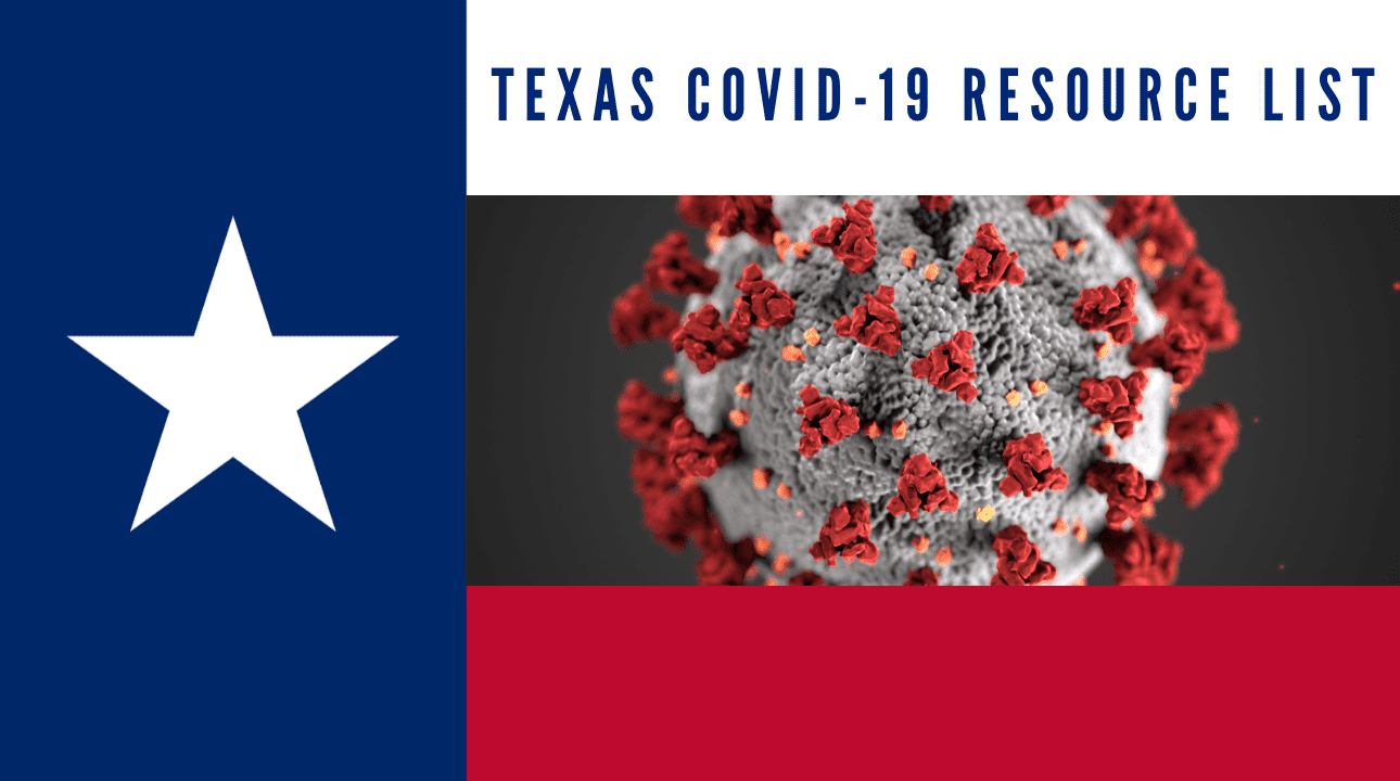 Texas COVID-19 Resources List by County and City