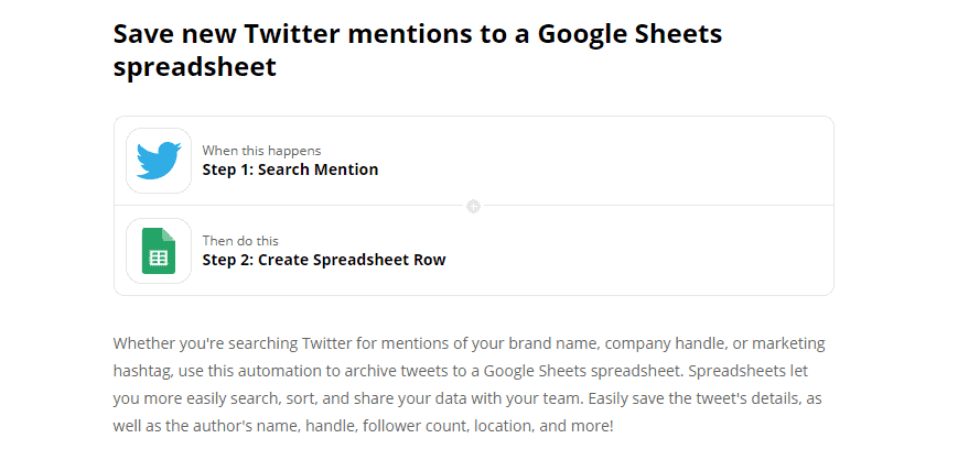 Save Twitter mentions for retargeting later as part of your nonprofit social media strategy.