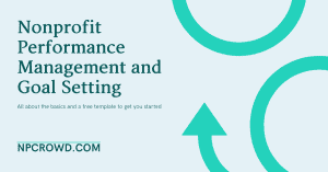 Nonprofit Performance Management and Goal Setting