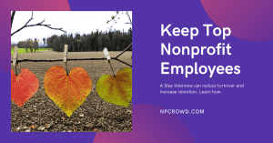 Stay interviews questions - Retain top nonprofit talent
