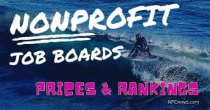 Nonprofit Job Boards with Pricing and Ranking Analysis