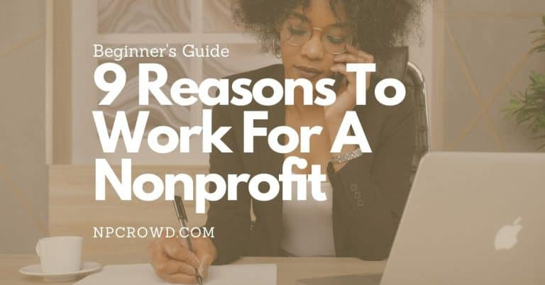 9 Reasons To Work For A Nonprofit | What You Missed